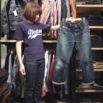 ステュディオ・ダルチザン(STUDIO D'ARTISAN)直営店でジーンズの色のお話聞いてきた♪