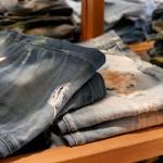 倉敷美観地区の藍照(あいたる)でユーズド加工がかっこいいジーンズとか見てきた!